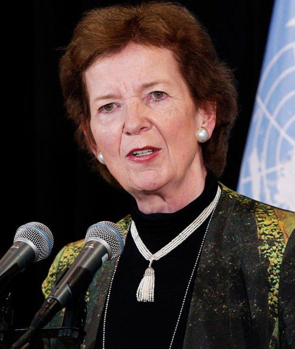 Mary Robinson speaker