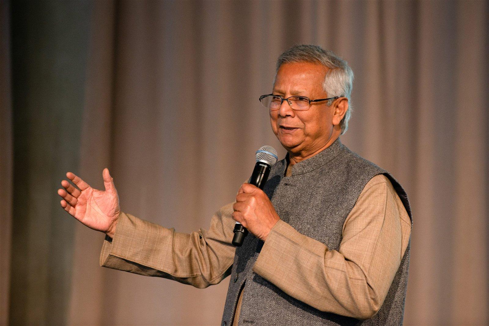 Muhammad Yunus Speaker