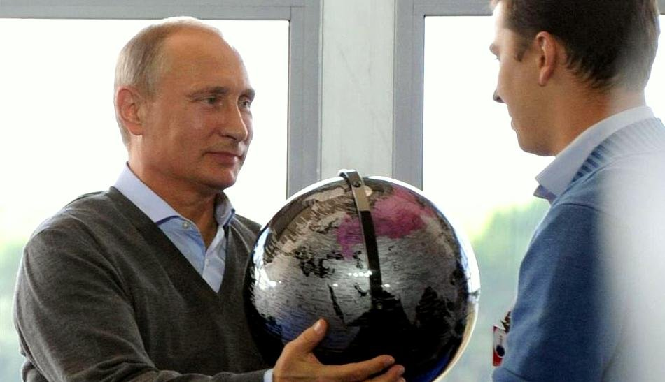 Russia's latest power play - Photo via NY Daily News - CC BY 2.0