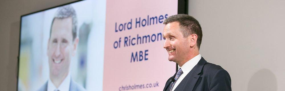 Chris Holmes speaker