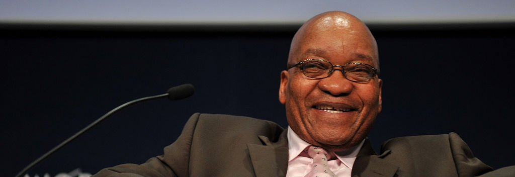Jacob Zuma in South Africa By © World Economic Forum www.weforum.org / Eric Miller emiller@iafrica.com (Jacob Zuma - World Economic Forum on Africa 2009) [CC-BY-SA-2.0], via Wikimedia Commons