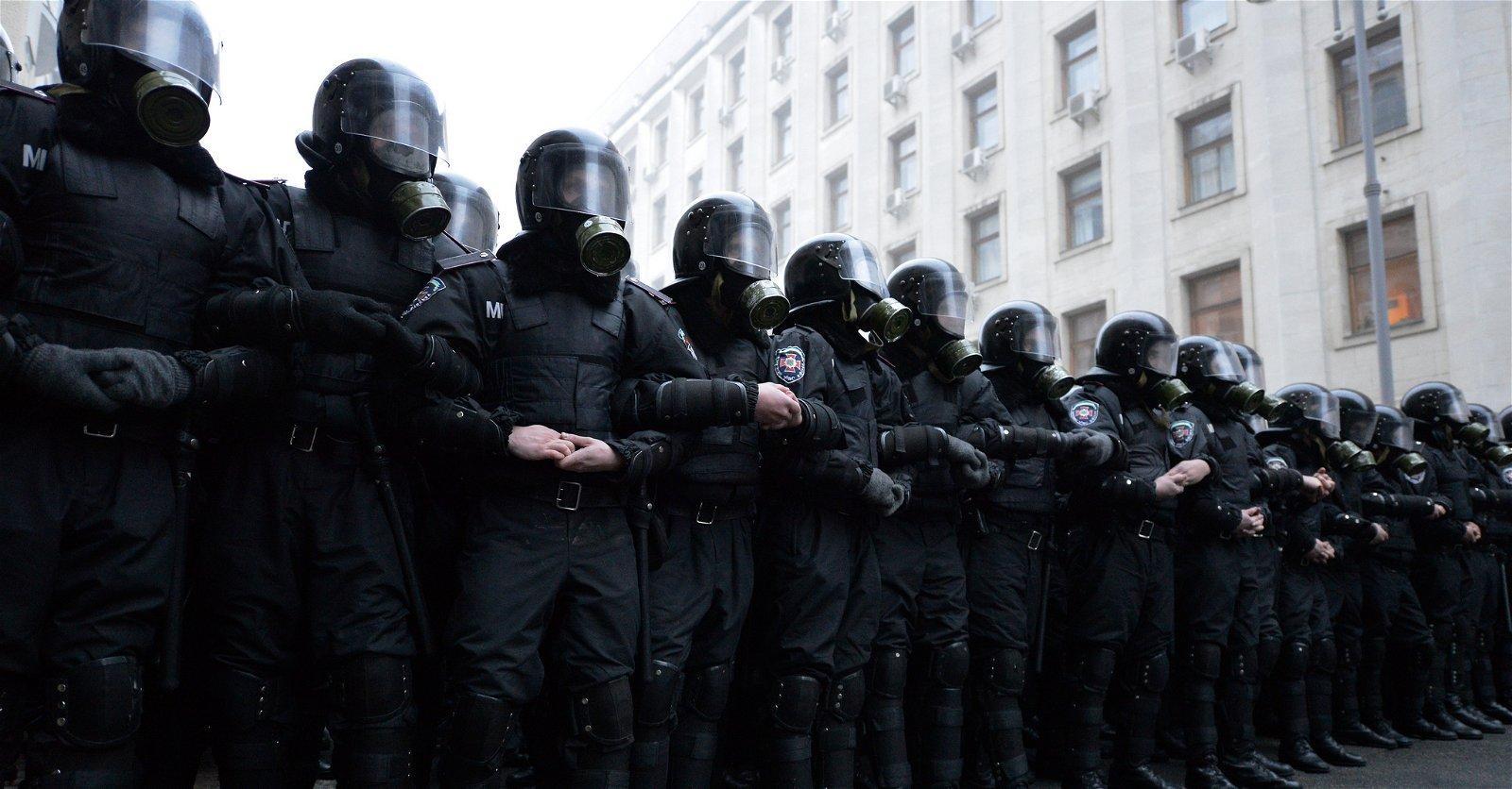 Ukrainian Riot Police - © Ivan Bandura - CC BY-SA 2.5