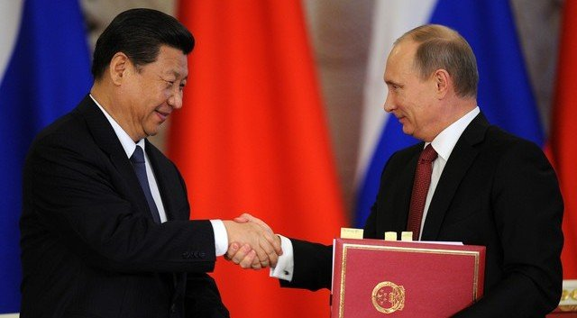Xi Jinping and Vladimir Putin: China's new anti-West axis
