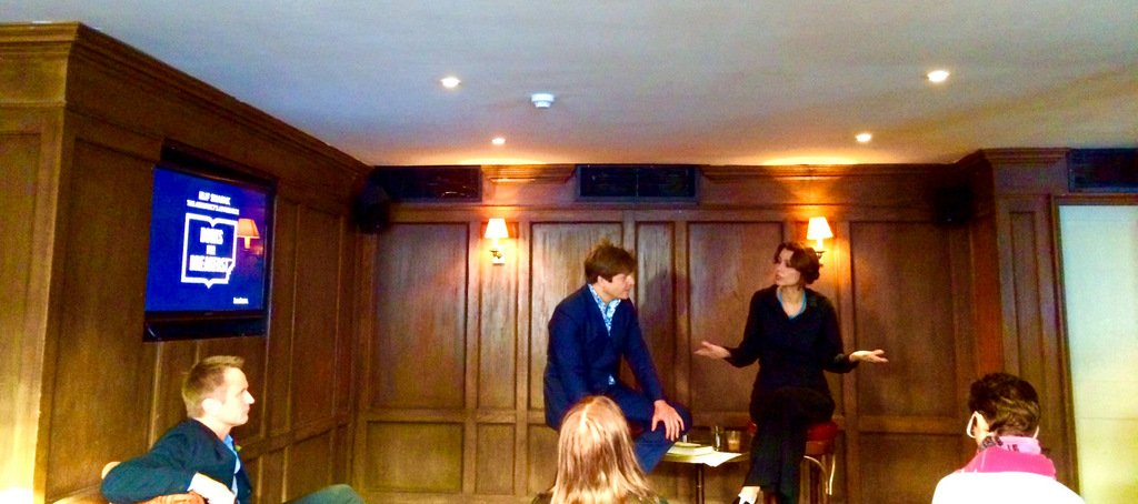 The Architect's Apprentice - Elif Shafak and Leo Johnson at Books For Breakfast