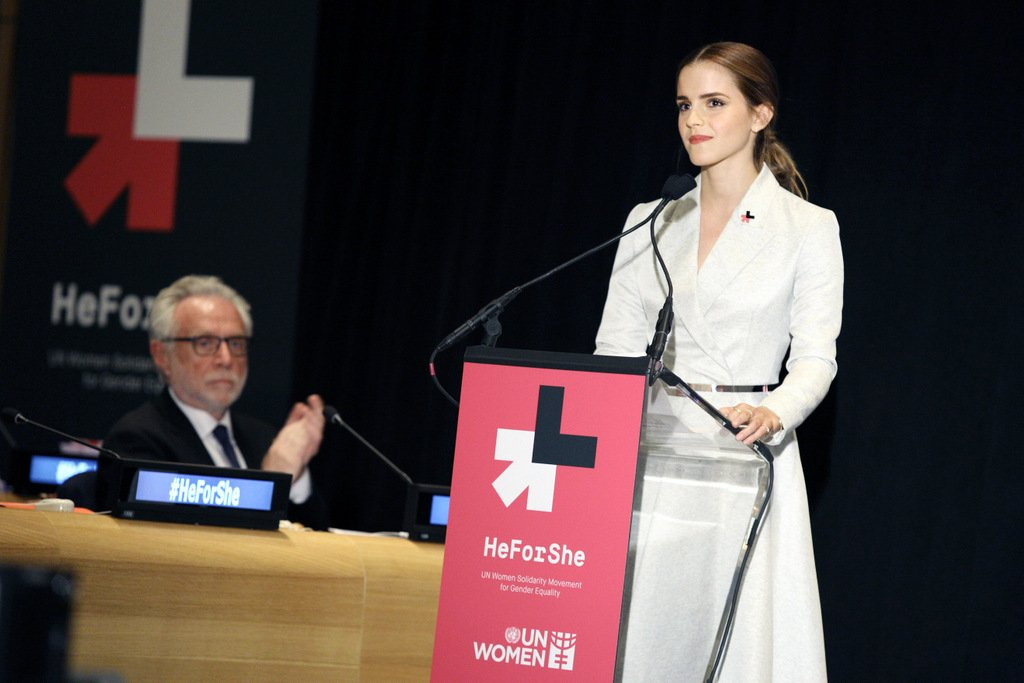 UN Women's HeForShe Campaign Special Event - Emma Watson - How to Be a Good Public Speaker