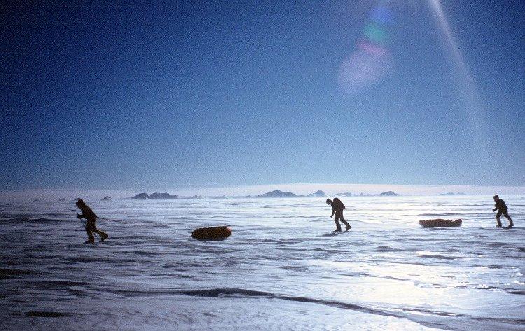 British explorer Tom Avery leads record-breaking Greenland crossing