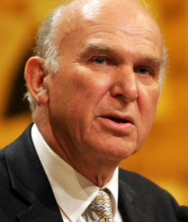Vince Cable speaker
