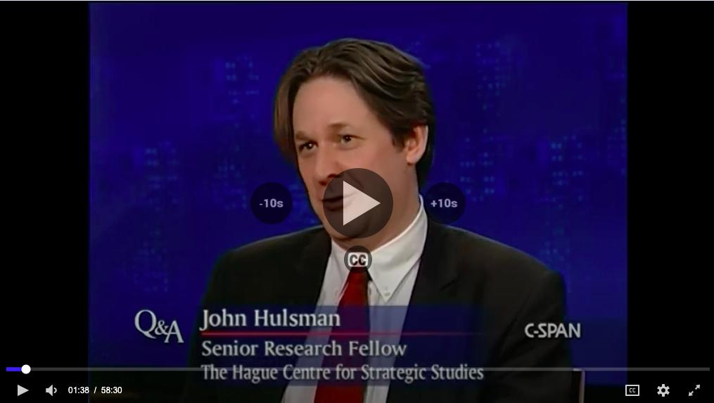 Q&A with John Hulsman