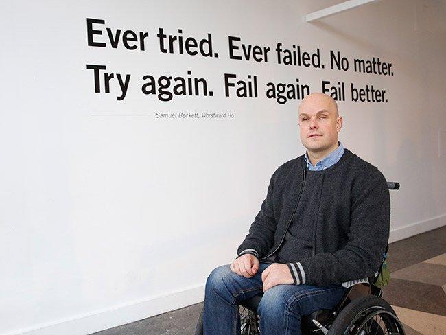 Mark Pollock motivational speaker event
