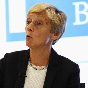 Liz Nicholl speaking