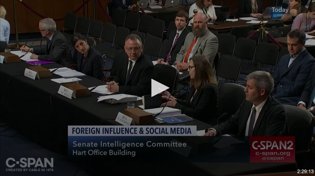 Foreign Influence on Social Media [please click here]