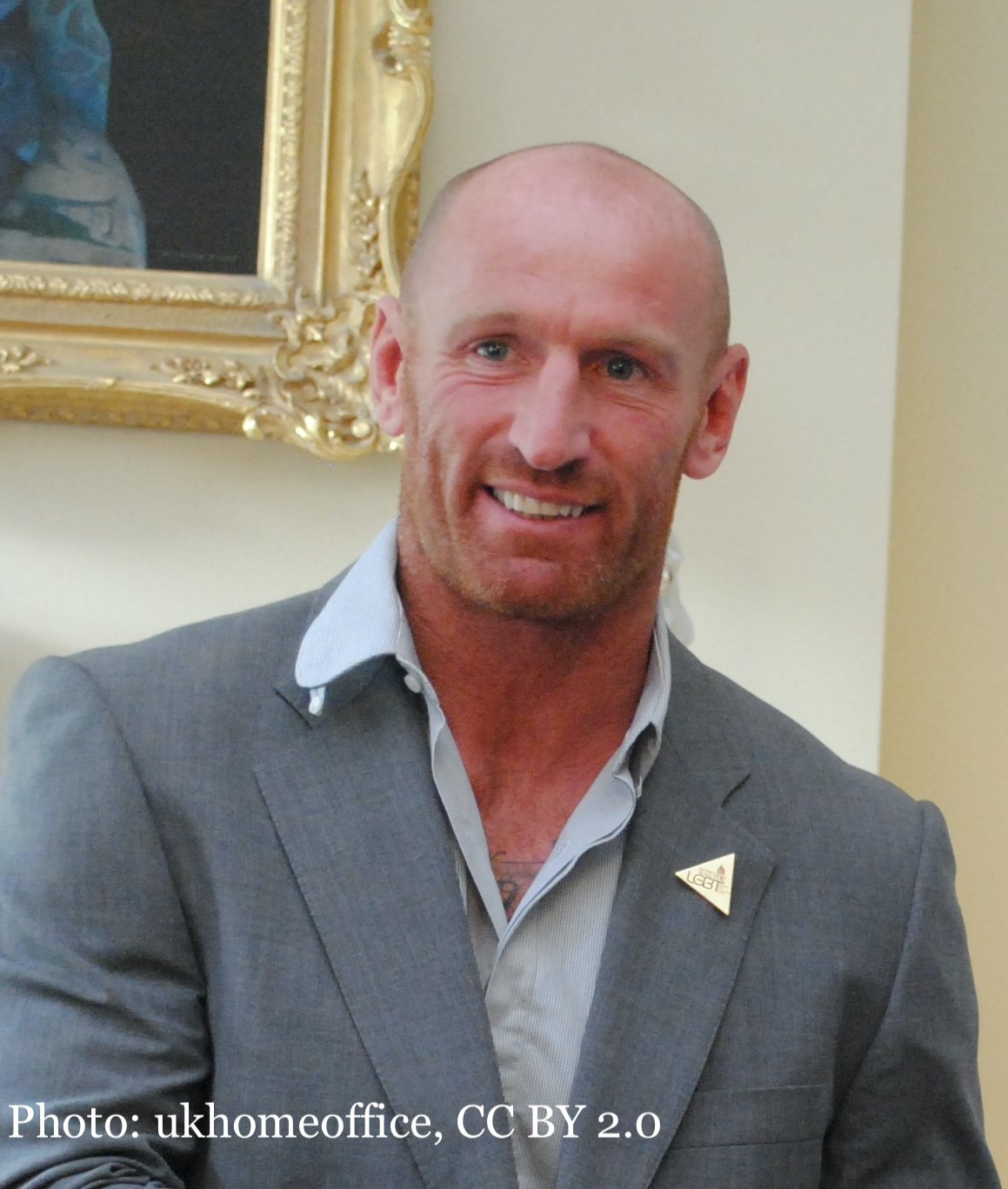 Gareth Thomas in Downing Street