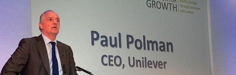 Paul Polman speaking