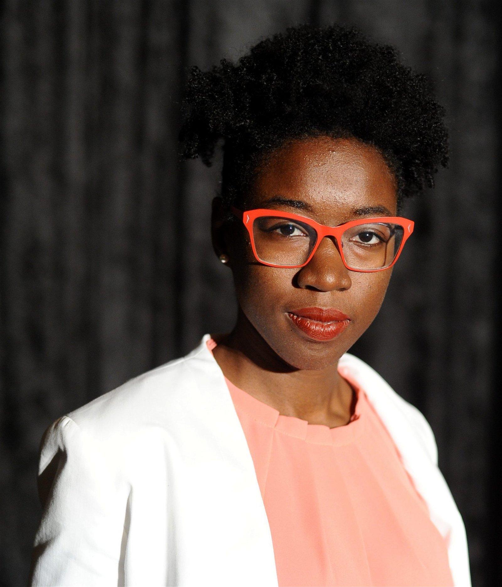 Joy Buolamwini headshot
